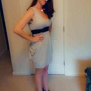 MWT Mymichelle Gray VNeckLine Dress